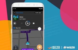 שירות המוזיקה Deezer זמין כעת ב-Waze גם למשתמשי אנדרואיד
