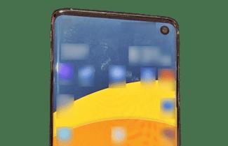 תמונה חדשה חושפת את חלקו הקדמי של ה-Galaxy S10