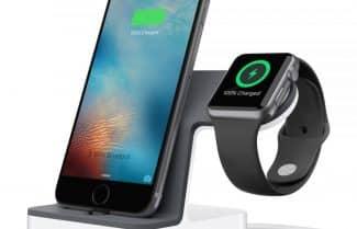 עמדת טעינה לאייפון ול-Apple Watch מבית Belkin – במחיר מעולה!