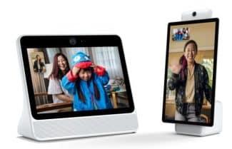 פייסבוק מכריזה על שני מסכים 'חכמים' לשיחות וידאו