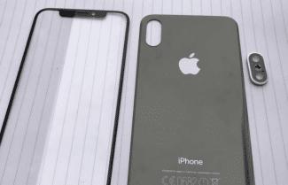 תמונות חושפות פאנל קדמי ואחורי של שלושת מכשירי האייפון החדשים