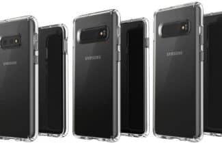 לפני ההכרזה: משפחת Galaxy S10 מחייכת למצלמה בתמונה 'רשמית'