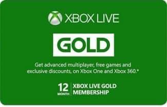 מנוי Xbox Live Gold ל-12 חודשים במחיר שווה במיוחד!
