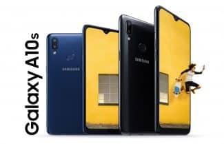 הוכרז: סמסונג Galaxy A10s – שתי מצלמות, חיישן טביעת אצבע וסוללה גדולה