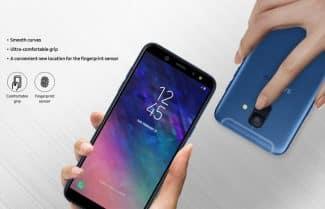 סמסונג חושפת את כל הפרטים על צמד המכשירים +Galaxy A6 ו-Galaxy A6