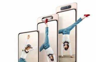 סמסונג מכריזה על ה-Galaxy A80 עם מצלמה קופצת ומסתובבת