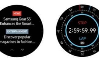 סמסונג משחררת עדכון חדש לשעונים החכמים Gear 2 ו-Gear 3