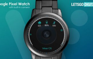 האם גוגל תציג בקרוב שעון חכם עם מצלמה במרכז המסך?
