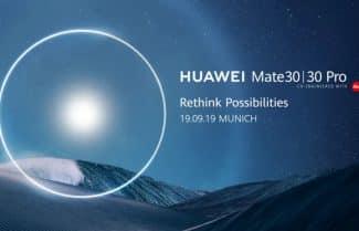 בואו לראות איתנו: וואווי מכריזה על סדרת Huawei Mate 30