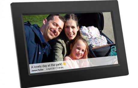 דיל מקומי עם משלוח עד הבית: מסגרת דיגיטלית 10 אינץ' עם חיבור לסמארטפון