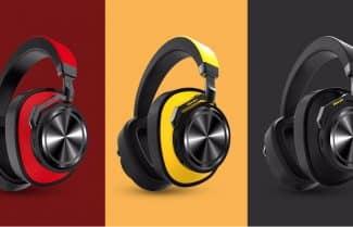 אוזניות פרימיום אלחוטיות Bluedio T6 במחיר מבצע לזמן מוגבל!