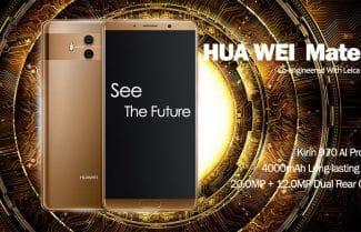 סמארטפון Huawei Mate 10 במחיר מעולה עם קופון הנחה!