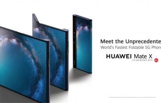 ברצלונה 2019: וואווי מכריזה על Huawei Mate X – מסך גמיש ומחיר בשמיים