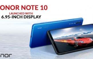 סמארטפון Honor Note 10 עם מסך 6.95 אינץ' במחיר מבצע לזמן מוגבל!