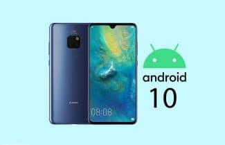 אנדרואיד 10 מתחילה להגיע למכשירי Huawei Mate 20 Pro