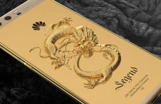 מגרד לכם בארנק? Huawei P10 עם ציפוי זהב 24 קראט במהדורה מוגבלת