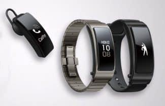 וואווי מכריזה על ה-TalkBand B5: שעון חכם היברידי שהופך לאוזניית בלוטות'