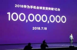 מי יעצור אותה? וואווי מכרה 100 מיליון סמארטפונים במחצית הראשונה של 2018