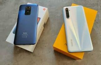 ג'ירפה סוקרת: Redmi Note 9 מול Realme 6 – מלחמה עד 1,000 שקלים