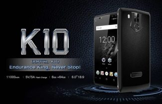סמארטפון OUKITEL K10 עם סוללה מפלצתית של 11,000mAh!