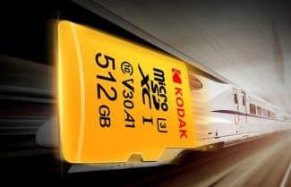כרטיס זיכרון בנפח 512 גיגה בייט מבית קודאק – במחיר מעולה לזמן מוגבל!