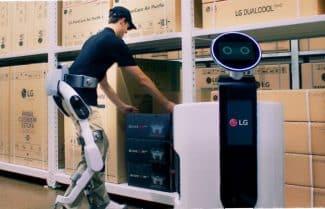 """חברת LG תציג לראשונה ב-IFA 2018 רובוט לביש """"אנושי"""""""