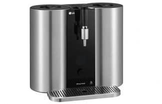 חברת LG מכריזה על מכונה ביתית לבישול בירה מבוססת קפסולות