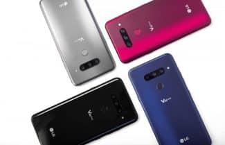 הוכרז: LG V40 ThinQ – חמש מצלמות ומסך 6.4 אינץ'
