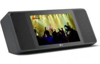 הושק: הרמקול החכם של LG עם מסך 8 אינץ' ורמקולים סטריאופוניים