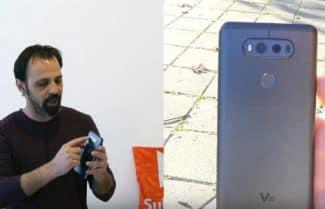 ג'ירפה בודקת: LG V20