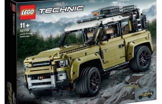 הדלפה לא צפויה: דגם הדיפנדר החדש של לנדרובר נחשף על ידי…LEGO