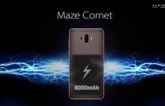 השלישי בדרך: Maze תכריז על סמארטפון עם סוללת 6,000mAh