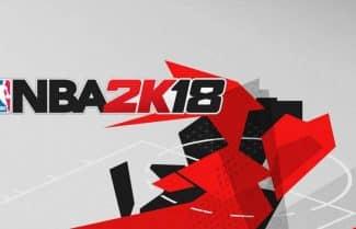 ג'ירפה מכדררת: סיקור משחק הכדורסל NBA 2K18