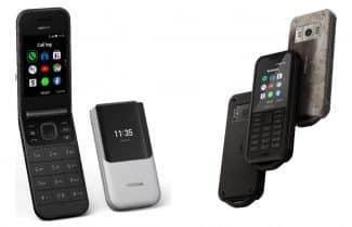 נוקיה מכריזה על שלושה טלפונים פשוטים עם נגיעות נוסטלגיה