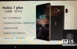 נחשפו פרטים חדשים על ה-Nokia 7 Plus; יוכרז כבר בברצלונה?