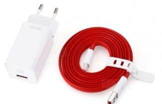 מטען מקורי למכשירי OnePlus כולל כבל USB-C – עם קופון הנחה