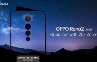 לקראת ההכרזה: נחשף מפרט ה-Reno 2 של OPPO