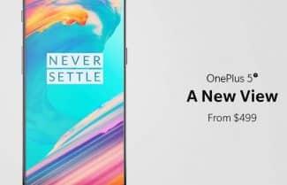 הוכרז: OnePlus 5T – מסך 6 אינץ' עם יחס צפיה 18:9 ומצלמה משופרת; החל מ-499 דולרים