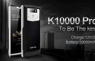 גירבסט: OUKITEL K10000 Pro במחיר מבצע!