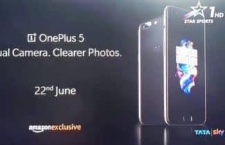 סרטון פרסומת בטלוויזיה ההודית חושף את ה-OnePlus 5