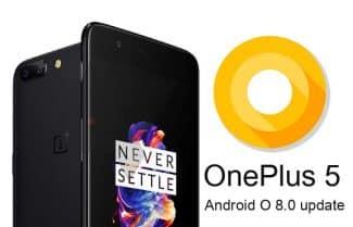 מתנה לשנה החדשה: OnePlus 5 מתחיל לקבל עדכון לאנדרואיד 8