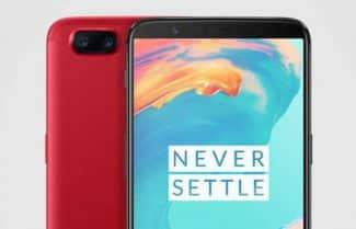 הגירסה החזקה ל-OnePlus 5T בצבע אדום עם קופון הנחה אטרקטיבי