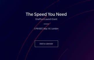 רשמית: OnePlus 6 יוכרז ב-16 במאי באירוע שיתקיים בלונדון
