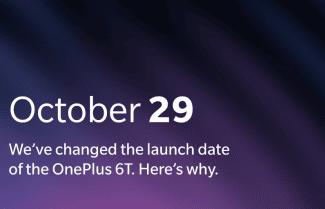 וואן פלוס הזיזה את ההכרזה על ה-OnePlus 6T ל-29 באוקטובר; מה הסיבה?