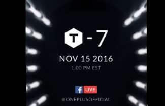 מכשיר הדגל החדש מבית OnePlus יוכרז ב-15 בנובמבר