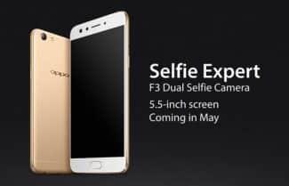 """הוכרז: Oppo F3 עם """"חווית סלפי"""" המשלבת שתי מצלמות קדמיות"""