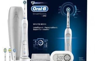 אמזון בריטניה: מברשת שיניים חשמלית Oral-B סדרה 6000 במחיר מבצע!