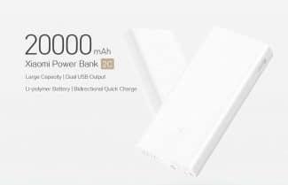 סוללה ניידת 20,000mAh מבית שיאומי במחיר שווה במיוחד עם קופון הנחה!