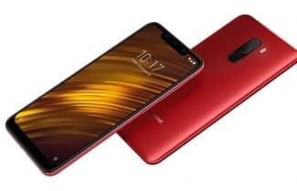 סמארטפון Pocophone F1 בצבע אדום לוהט עם קופון הנחה אטרקטיבי!