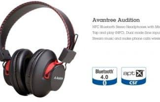 אוזניות Over-the-ear אלחוטיות של חברת Avantree